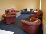 The upstairs room - just perfect for small meeting groups.